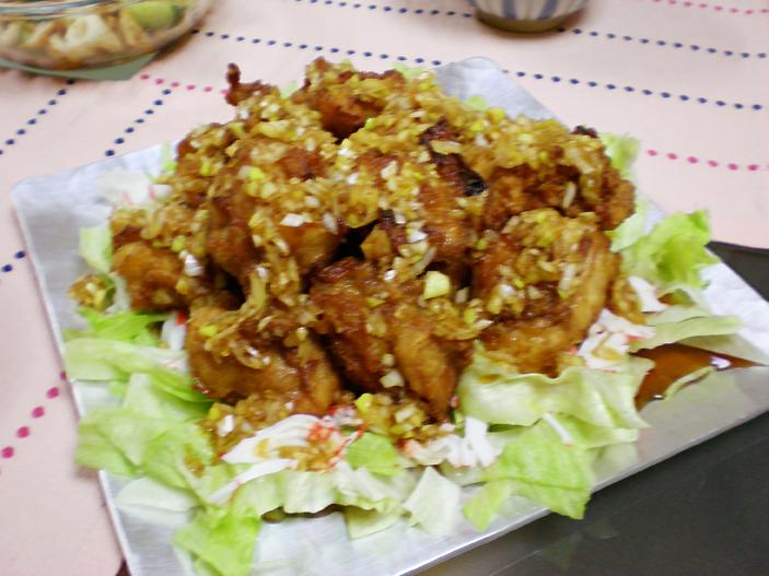 鶏カラがもっと美味いユーリンチーソース