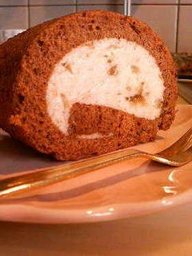 卵1個でシフォンなロールケーキ