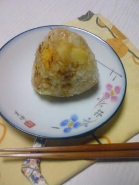 ✿ 味噌×チーズのおにぎり✿