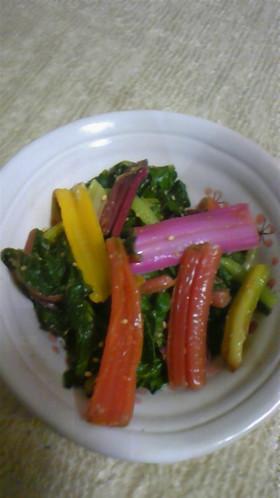 珍野菜料理1