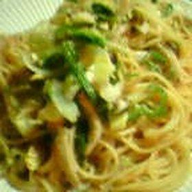 我が家の明太子スパゲッティ