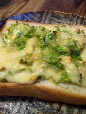 和風トースト(お手軽編) ◎葱チーズ◎