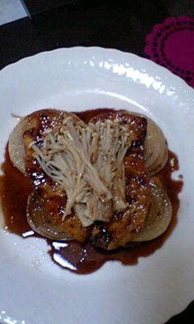 甘うま〜☆新玉ねぎとカジキのバターソテー