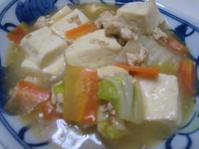 豆腐と白菜のうま煮♪