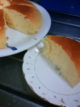 炊飯器でしゅわしゅわスフレチーズケーキ
