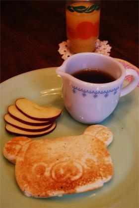 アメリカの家庭料理★ホットケーキシロップ