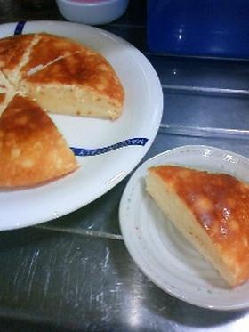 炊飯器で半熟ヨーグルト×チーズケーキ