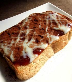 ベリージャム♥ココアのトースト♥