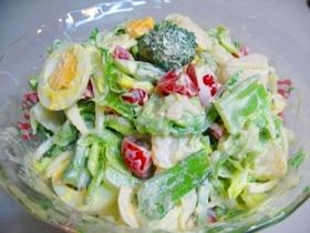 春野菜いっぱい♪サラダ