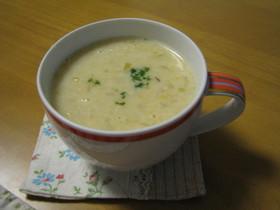超簡単コーンスープ