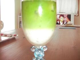 簡単☆冷たい抹茶ミルク