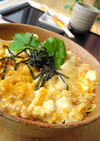 ふわふわ豆腐の親子丼