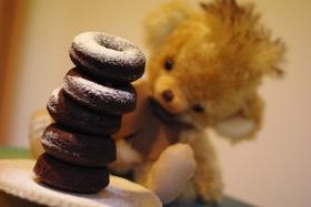 貝印ベイクドーナツ型ダブルチョコレート♪