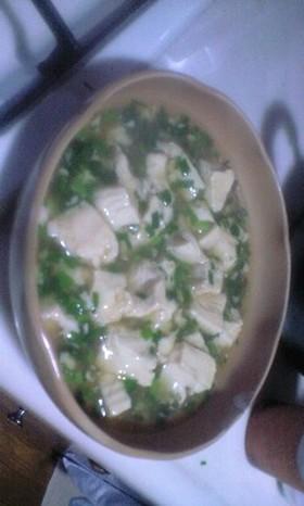 とろっとろ冷凍豆腐