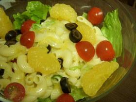 ガーリックレモンのマカロニサラダ