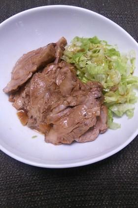超簡単!豚肉の香味レンジ蒸し