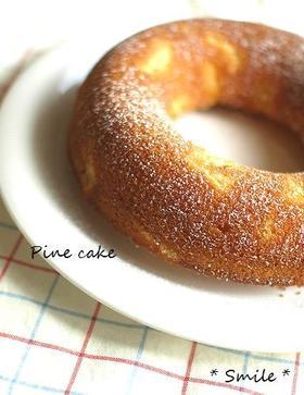 簡単☆パインエンゼルケーキ♪