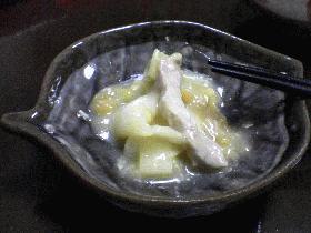 豚肉と白菜の味噌蒸し
