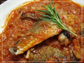 さんまのイタリアンなトマト煮込み