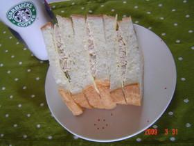 HBでサンドイッチパン