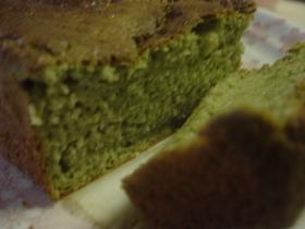 ■ホットケーキmix抹茶パウンドケーキ