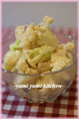 野菜を食べよう☆カリフラワーのマス・マヨ
