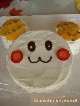 簡単だよ♪うーたんのケーキ♪
