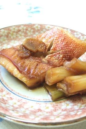 赤魚の甘辛煮