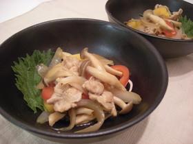豚肉・野菜のポン酢炒め