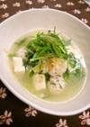 塩麹さんで中華風鶏だんごスープ