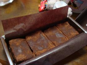生チョコ ーカルーア風味ー