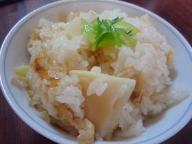 うどんスープで美味しい☆簡単たけのこご飯