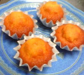 オレンジピールとハチミツのマドレーヌ