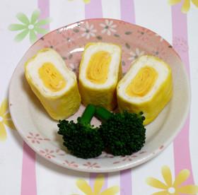 お弁当★ゆで卵みたいな卵焼き
