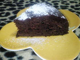 炊飯器で濃厚ずっしりチョコ×2ケーキ♪
