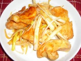 鶏肉のピリカラ韓国風