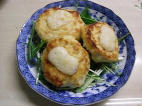 チーズin豆腐ハンバーグ