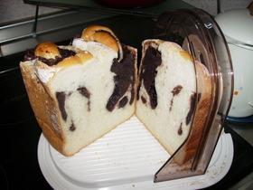 HBで♪米粉あん食パン