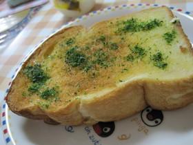 ハマるおいしさ♪青海苔トースト