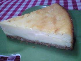 だぁ〜い好き♪チーズケーキ(^-^)