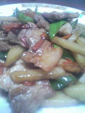 残った焼肉のタレで★ウマウマカルビ炒め