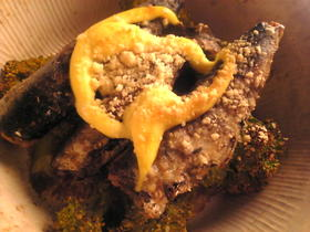 ブロッコリーと鰯のマヨネーズチーズ焼き