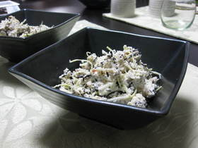 おから&ひじき煮のヨーグルトサラダ