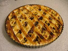 アップルパイを作ってみた (^_^)