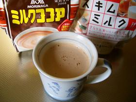(*´∇`)< 濃厚ミルクココア☆