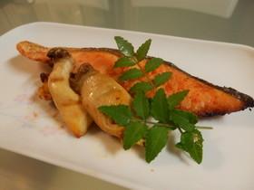 鮭の南蛮焼き