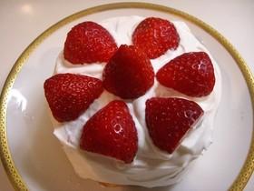 お誕生日に♪子供用ショートケーキ