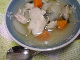 味付けナシ!?でもウマウマ鶏生姜スープ