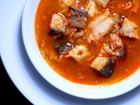 ハラースレー(ハンガリー風魚スープ)