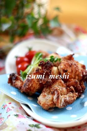 簡単♡ジンギスカンのタレで鶏のから揚げ♡